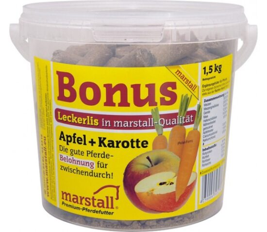 Marstall - Bonbons Pomme et Carottes 1.5kg